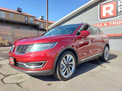 2016 Lincoln MKX for sale at Red Rock Auto Sales in Saint George UT