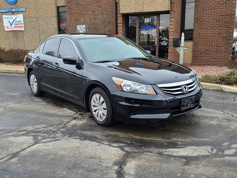 2012 Honda Accord for sale at Mighty Motors in Adrian MI