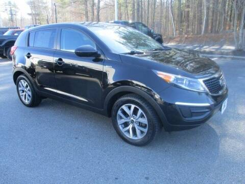 2015 Kia Sportage for sale at MC FARLAND FORD in Exeter NH