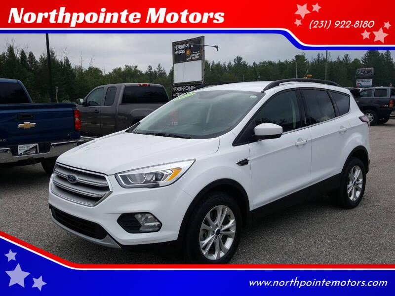2018 Ford Escape for sale at Northpointe Motors in Kalkaska MI