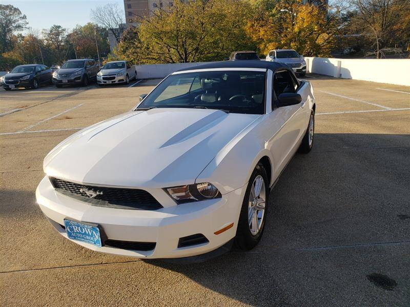 2012 Ford Mustang for sale at Crown Auto Group in Falls Church VA