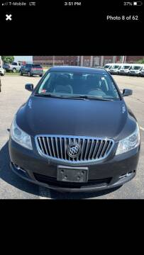2013 Buick LaCrosse for sale at Worldwide Auto Sales in Fall River MA