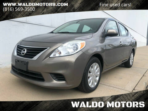 2013 Nissan Versa for sale at WALDO MOTORS in Kansas City MO