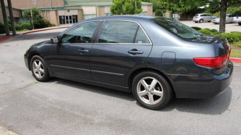 2005 Honda Accord for sale at NORCROSS MOTORSPORTS in Norcross GA