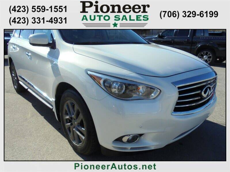 2013 Infiniti JX35 for sale at PIONEER AUTO SALES LLC in Cleveland TN