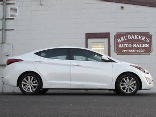 2016 Hyundai Elantra for sale at Brubakers Auto Sales in Myerstown PA