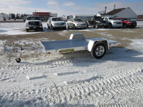 "2021 Aluma 54"" x 10' for sale at Nore's Auto & Trailer Sales - Utility Trailers in Kenmare ND"