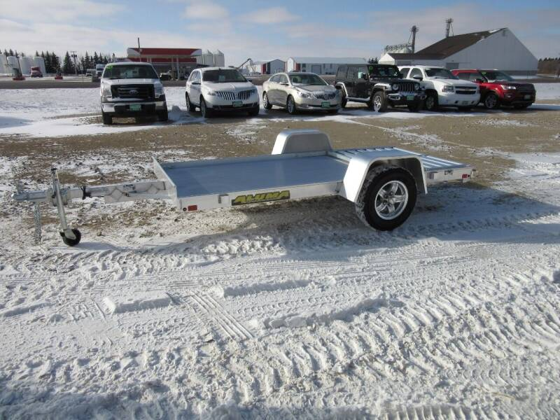 """2021 Aluma 54"""" x 10' for sale at Nore's Auto & Trailer Sales - Utility Trailers in Kenmare ND"""