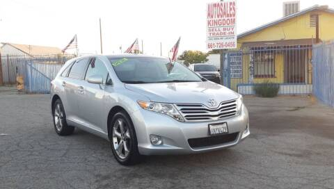 2010 Toyota Venza for sale at Autosales Kingdom in Lancaster CA