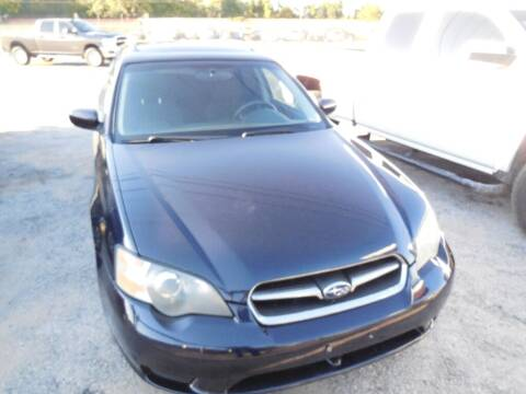 2005 Subaru Legacy for sale at SCOTT HARRISON MOTOR CO in Houston TX