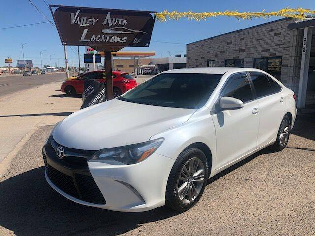 2016 Toyota Camry for sale at Valley Auto Locators in Gering NE
