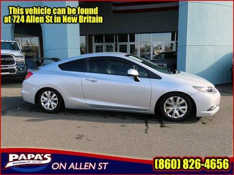2012 Honda Civic for sale at Papas Chrysler Dodge Jeep Ram in New Britain CT