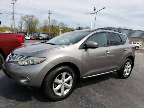 2009 Nissan Murano for sale at COLONIAL AUTO SALES in North Lima OH