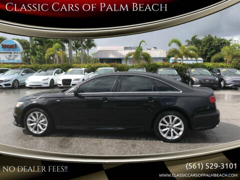 2017 Audi A6 for sale at Classic Cars of Palm Beach in Jupiter FL