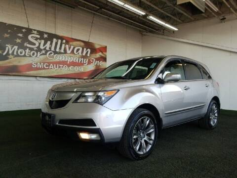 2011 Acura MDX for sale at SULLIVAN MOTOR COMPANY INC. in Mesa AZ