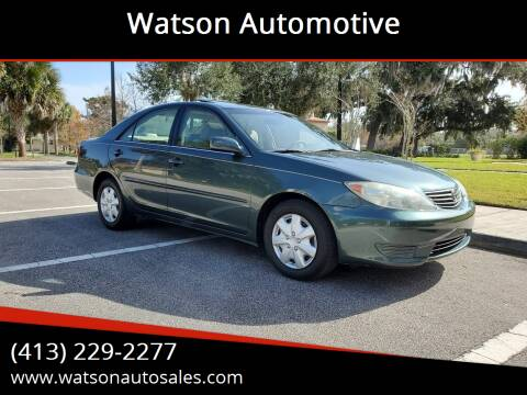 2006 Toyota Camry for sale at Watson Automotive in Sheffield MA
