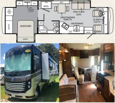 2014 Holiday Rambler Vacationer 33SFD for sale at S & M WHEELESTATE SALES INC - Class A in Princeton NC
