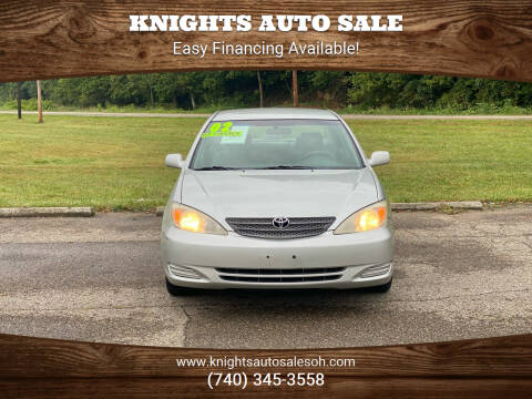 2002 Toyota Camry for sale at Knights Auto Sale in Newark OH