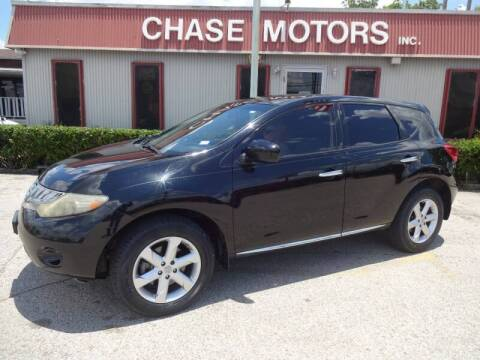 2009 Nissan Murano for sale at Chase Motors Inc in Stafford TX