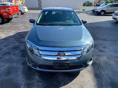 2011 Ford Fusion for sale at L.A. Automotive Sales in Lackawanna NY