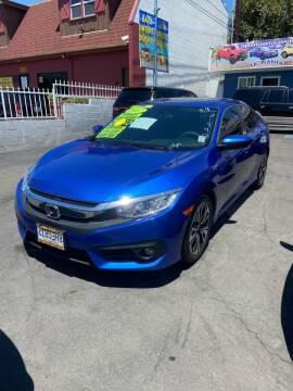 2017 Honda Civic for sale at 2955 FIRESTONE BLVD - 3271 E. Firestone Blvd Lot in South Gate CA