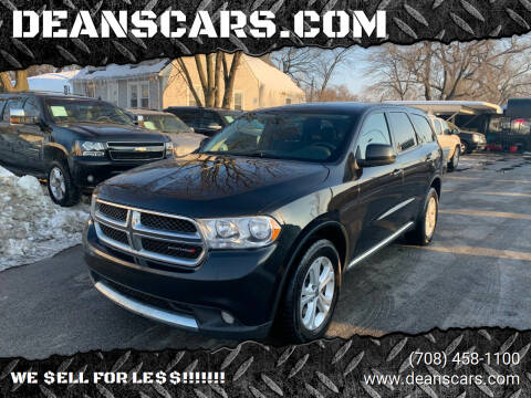 2013 Dodge Durango for sale at DEANSCARS.COM in Bridgeview IL
