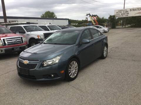 2012 Chevrolet Cruze for sale at Strategic Auto Group in Garland TX