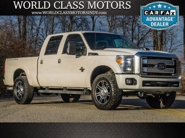 2016 Ford F-250 Super Duty for sale at World Class Motors LLC in Noblesville IN