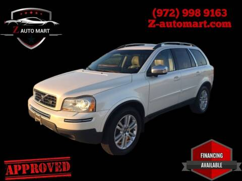 2010 Volvo XC90 for sale at Z AUTO MART in Lewisville TX