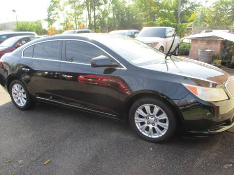2012 Buick LaCrosse for sale at City Wide Auto Mart in Cleveland OH