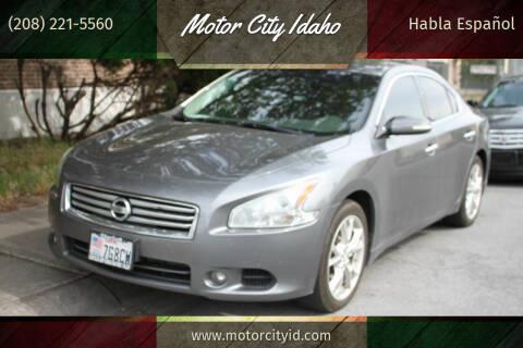 2014 Nissan Maxima for sale at Motor City Idaho in Pocatello ID