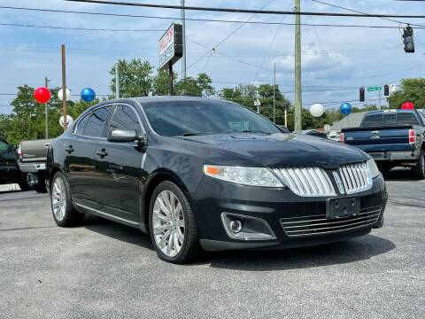 2011 Lincoln MKS for sale at Hilltop Car Sales in Knoxville TN