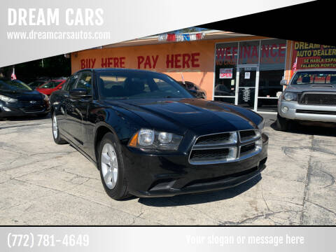 2014 Dodge Charger for sale at DREAM CARS in Stuart FL