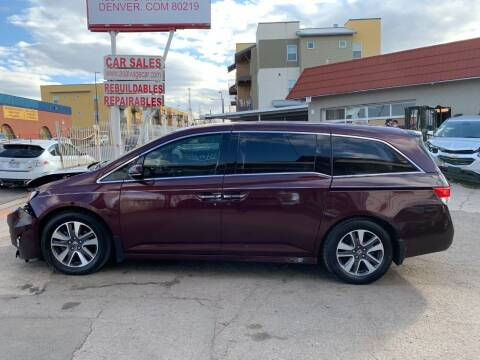 2014 Honda Odyssey for sale at STS Automotive in Denver CO