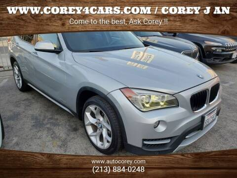 2014 BMW X1 for sale at WWW.COREY4CARS.COM / COREY J AN in Los Angeles CA