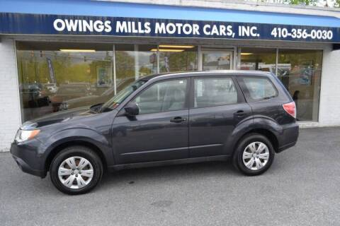 2009 Subaru Forester for sale at Owings Mills Motor Cars in Owings Mills MD