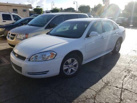 2013 Chevrolet Impala for sale at KK Car Co Inc in Lake Worth FL