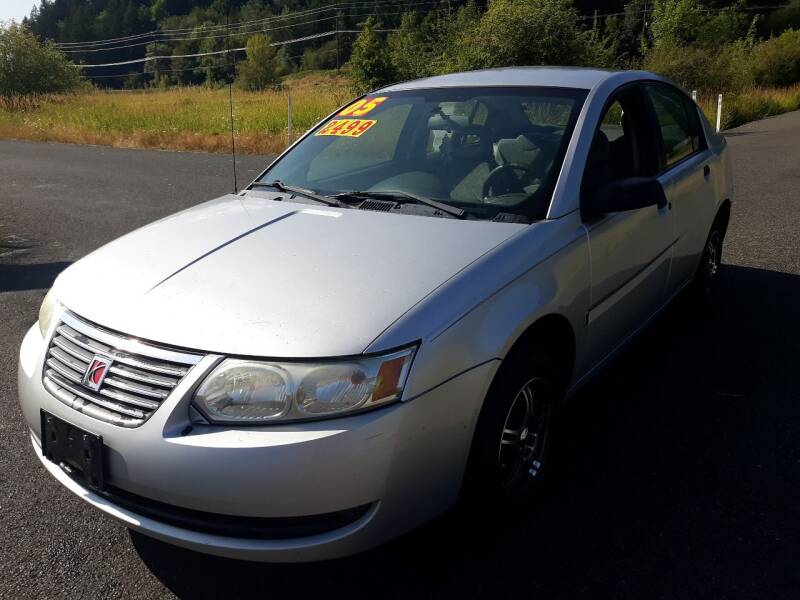 2005 Saturn Ion for sale at State Street Auto Sales in Centralia WA