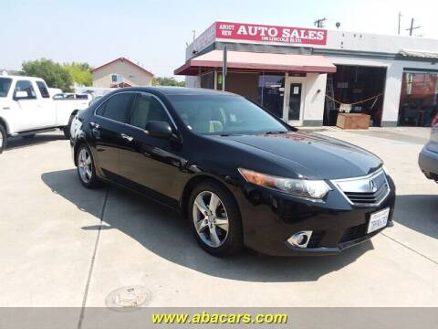 2012 Acura TSX for sale at About New Auto Sales in Lincoln CA