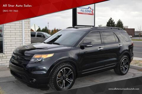 2014 Ford Explorer for sale at All Star Auto Sales in Pleasant Grove UT