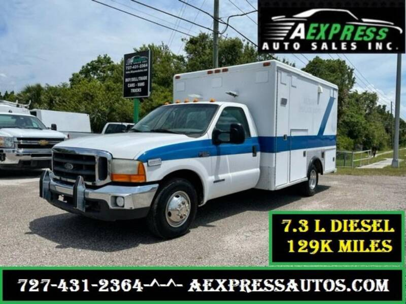2000 Ford F-350 Super Duty for sale at A EXPRESS AUTO SALES INC in Tarpon Springs FL