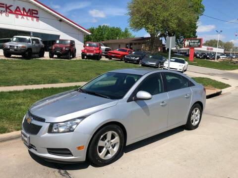 2014 Chevrolet Cruze for sale at Efkamp Auto Sales LLC in Des Moines IA