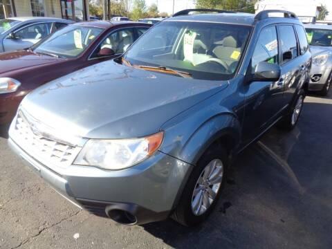 2011 Subaru Forester for sale at Aspen Auto Sales in Wayne MI
