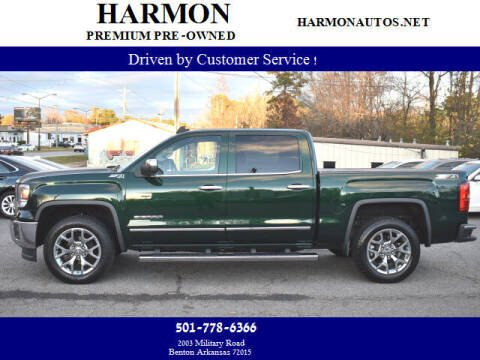2015 GMC Sierra 1500 for sale at Harmon Premium Pre-Owned in Benton AR