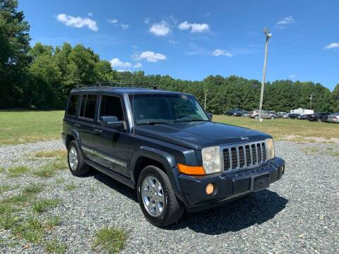 2007 Jeep Commander for sale at Sanford Autopark in Sanford NC