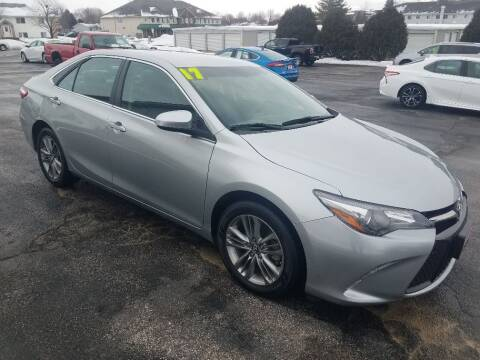 2017 Toyota Camry for sale at Cooley Auto Sales in North Liberty IA