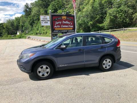 2013 Honda CR-V for sale at Jerry Dudley's Auto Connection in Barre VT