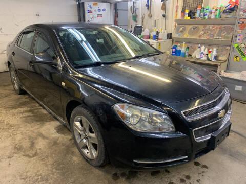 2008 Chevrolet Malibu for sale at BURNWORTH AUTO INC in Windber PA