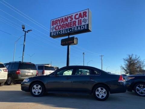 2011 Chevrolet Impala for sale at Bryans Car Corner in Chickasha OK