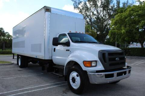 2012 Ford F-750 Super Duty for sale at Truck and Van Outlet in Miami FL